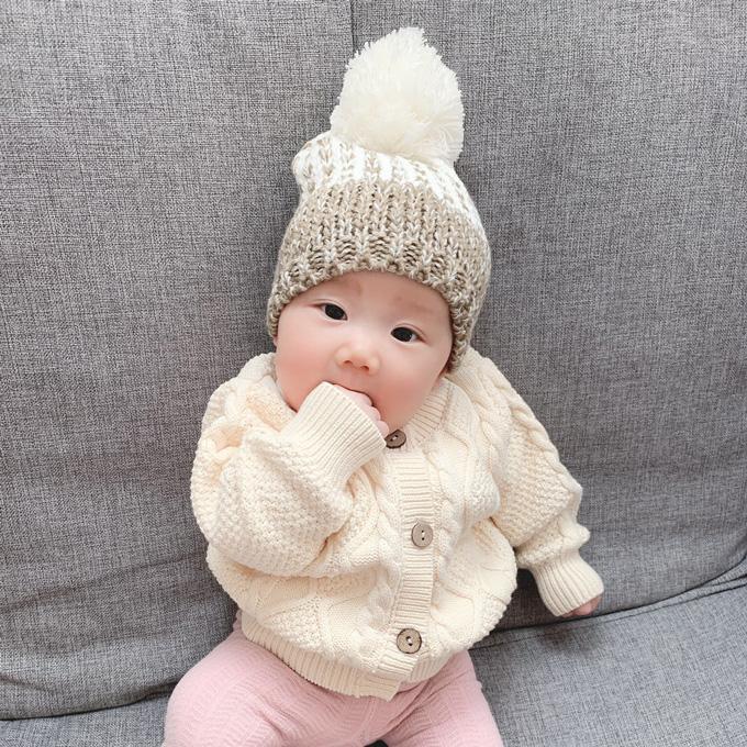 Pearls パールズ 親子ペア ニットキャップ 6点セット ニット帽 ベビー ママ 帽子 お揃い 冬 親子リンクコーデ