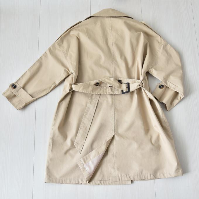 Pearls パールズ マタニティ コート ママコート トレンチコート アウター 大きめサイズ だっこ 防寒 大きいサイズ 秋 冬 送料無料