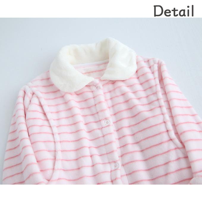 Pearls パールズ 授乳服 マタニティ パジャマ 長袖 フリース 暖か あったか 冬 秋