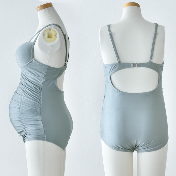 マタニティ 水着 産前 産後 スイムウェア 妊婦 ママ おしゃれ スイミング プール 夏 海 ビーチ パールズ Pearls