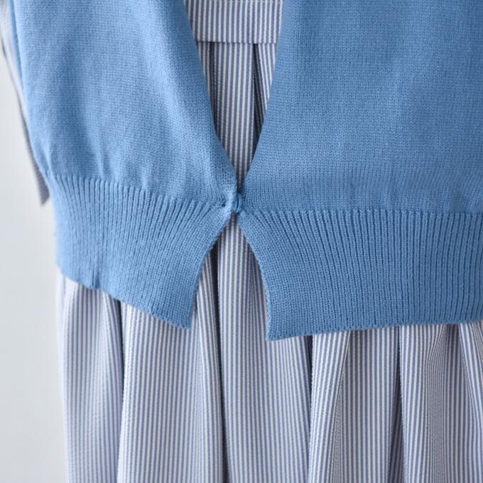 授乳服 ニット ベスト 授乳ロンT セット 授乳ケープ 秋冬 冬 暖か マタニティ トップス Pearls パールズ